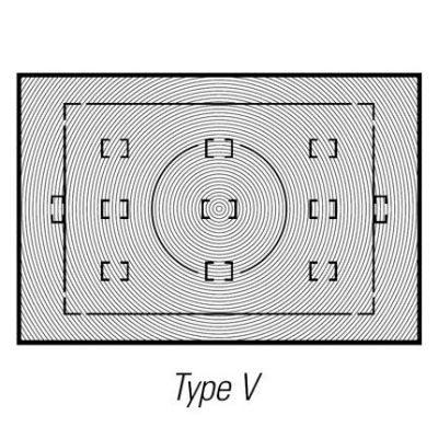 Nikon Matglas V voor D2X