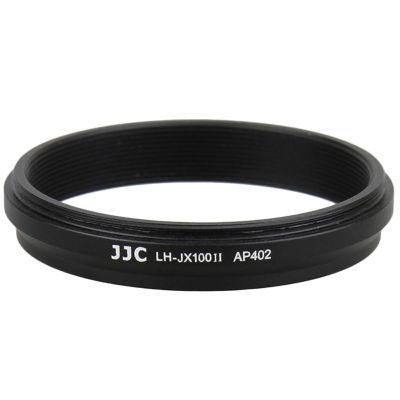 JJC LH-JX100II Fuji Zonnekap - zwart