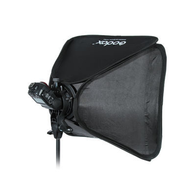 Godox Speedlight Bracket Bowens + Softbox 40x40cm