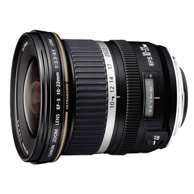 Canon EF-S 10-22mm f/3.5-4.5 USM objectief