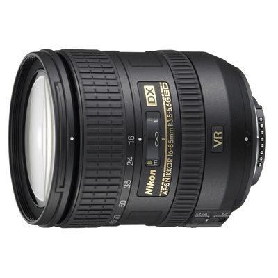 Nikon AF-S 16-85mm f/3.5-5.6G VR ED DX objectief