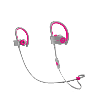 Beats Powerbeats 2.0 Pink Gray Wireless In-Ear koptelefoon