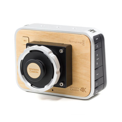Wooden Camera BMPC 4K Camera Modification + PL Mount
