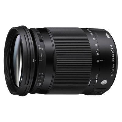 Sigma 18-300mm f/3.5-6.3 DC HSM Macro Contemporary Pentax objectief