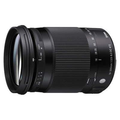 Sigma 18-300mm f/3.5-6.3 DC HSM Macro Contemporary Sony objectief