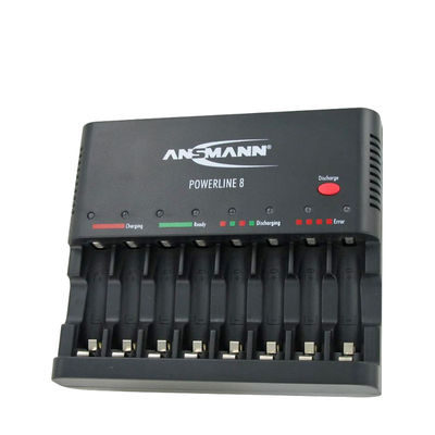 Ansmann Powerline 8 batterijlader