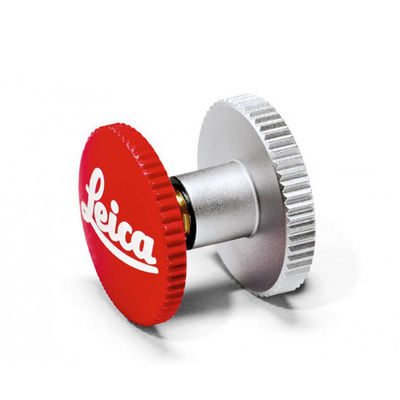 Leica Soft Release Button Leica 12mm Rood