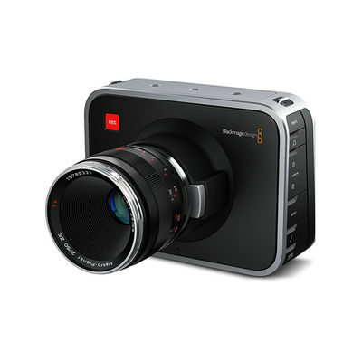Blackmagic Cinema videocamera - PL-vatting