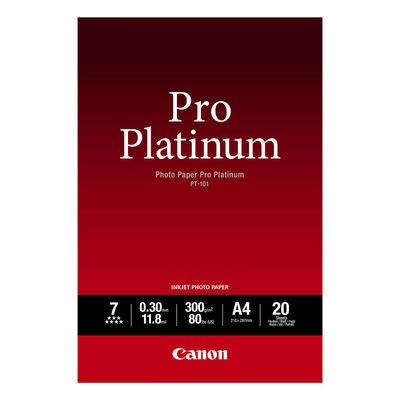 Canon PT-101 Pro Platinum Photo Paper A4 20 sheets