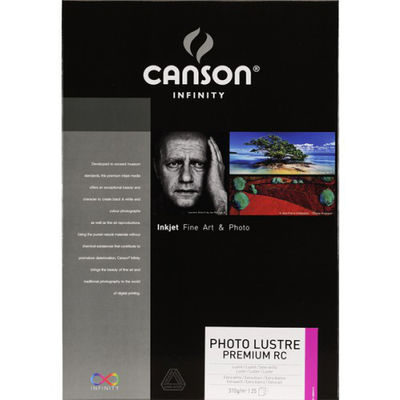 Canson Infinity Photo Lustre Premium RC 310g A3+ 25 vel