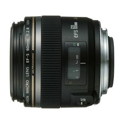 Canon EF-S 60mm f/2.8 USM Macro objectief