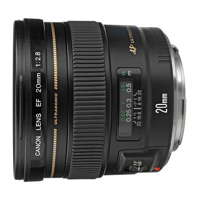 Canon EF 20mm f/2.8 USM objectief