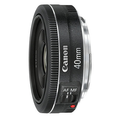 Canon EF 40mm f/2.8 STM objectief