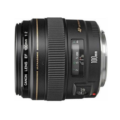 Canon EF 100mm f/2.0 USM objectief