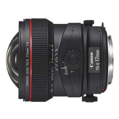 Canon TS-E 17mm f/4.0L objectief