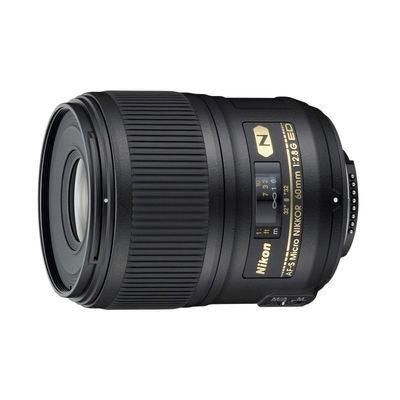 Nikon AF-S 60mm f/2.8G ED Micro objectief