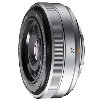 Fujifilm XF 27mm f/2.8 Pancake objectief Zilver