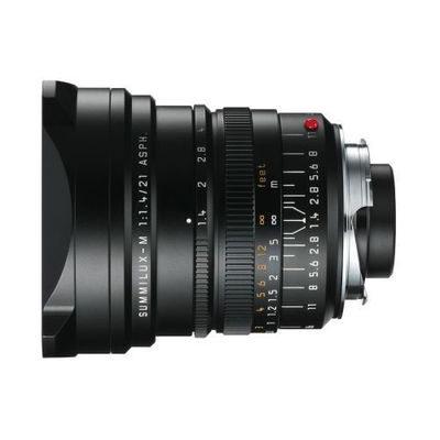 Leica Summilux-M 21mm f/1.4 ASPH objectief Zwart
