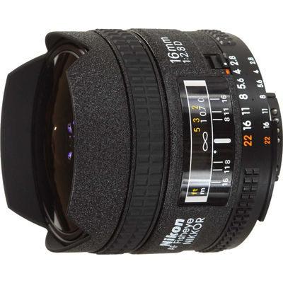 Nikon AF-D 16mm f/2.8 Fisheye objectief