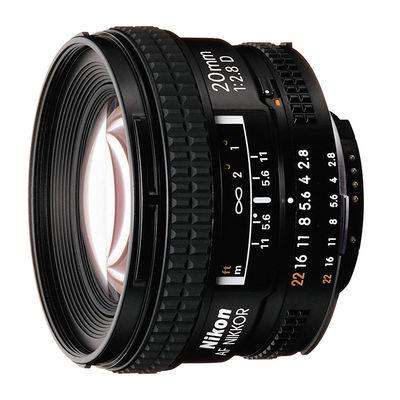 Nikon AF 20mm f/2.8D objectief