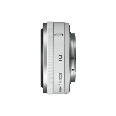 1 Nikon 10mm f/2.8 Solo objectief Wit
