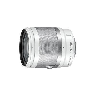 1 Nikon 10-100mm f/4.0-5.6 VR objectief Wit