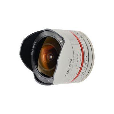 Samyang 8mm f/2.8 Fisheye UMC Fujifilm X objectief Zilver