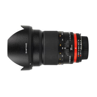 Samyang 35mm f/1.4 ED AS UMC Nikon AE objectief