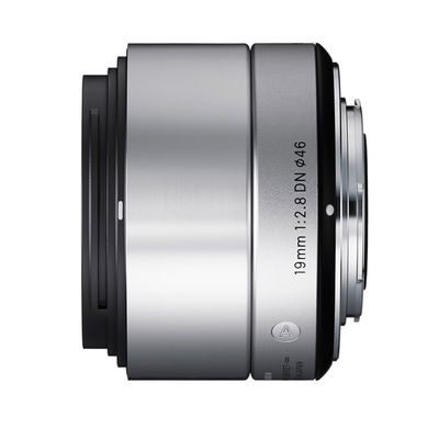 Sigma 19mm f/2.8 DN ART Micro 4/3 objectief Zilver