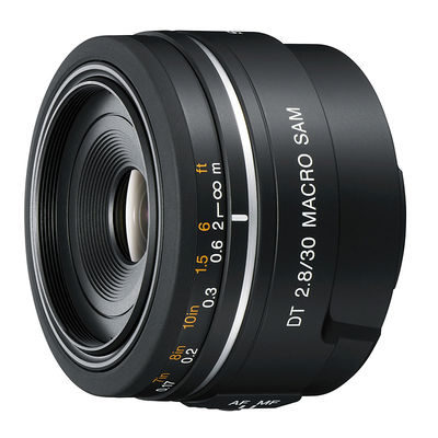 Sony 30mm f/2.8 DT Macro objectief