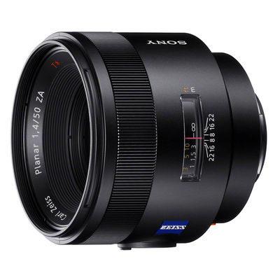 Sony 50mm f/1.4 ZA Planar T* SSM objectief