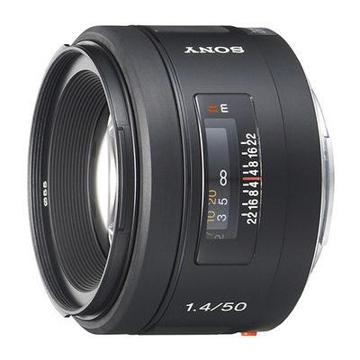Sony 50mm f/1.4 objectief