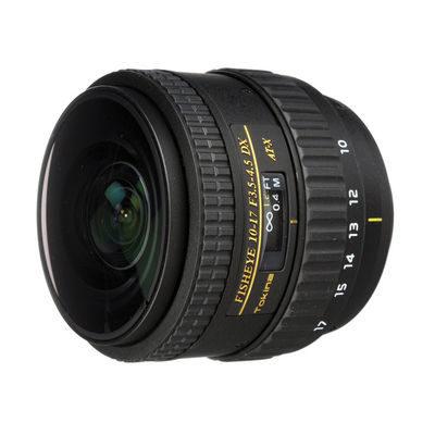 Tokina AT-X 10-17mm f/3.5-4.5 Nikon No Hood objectief