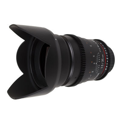 Samyang 35mm T1.5 AS UMC Sony A VDSLR objectief