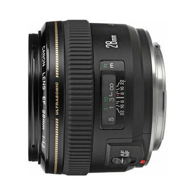 Canon EF 28mm f/1.8 USM objectief - Occasion