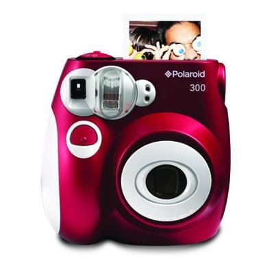 Polaroid Instant 300 instant camera Rood
