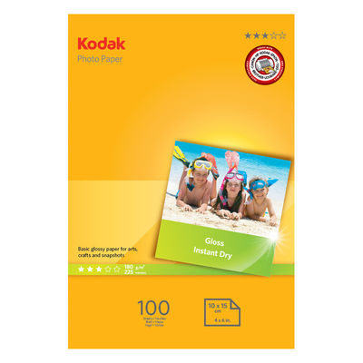 Kodak Photo 10x15 180gr 100 Vel Glossy