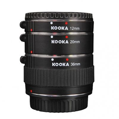 Kooka Extension Tube set Olympus Chroom