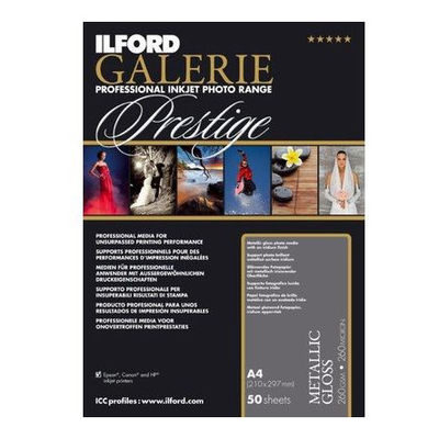 Ilford Galerie Prestige Metallic Gloss A2 260g 25 Vel