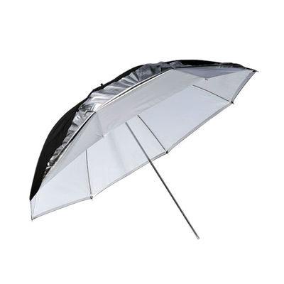 Godox UB-006 Dual Duty Paraplu Zwart/Zilver/Translucent (101cm)