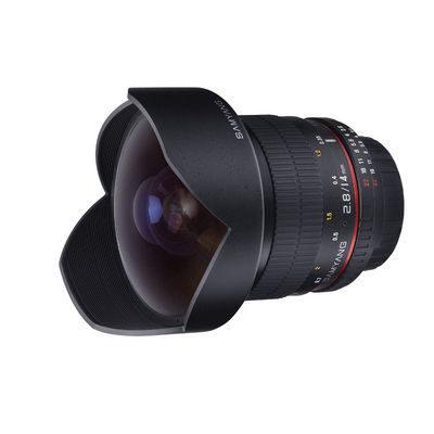 Samyang 14mm f/2.8 ED AS IF UMC Nikon AE objectief