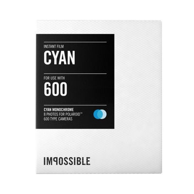 Impossible Film for 600 Cyan