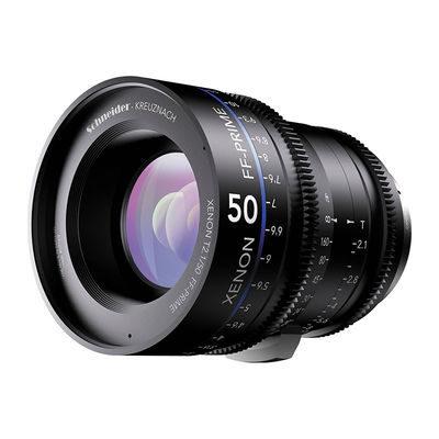 Schneider Xenon FF Prime 50mm T2.1 Canon EF objectief