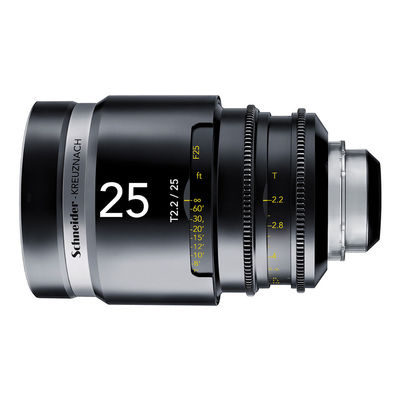 Schneider Cine-Xenar III 25mm T2.2 PL objectief