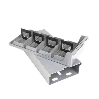 Gepe Cassette met 4 CS-magazijnen voor elk 40 dia's