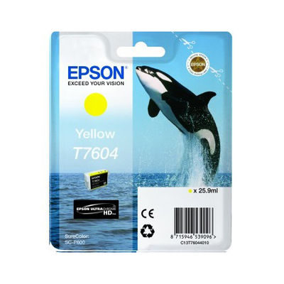 Epson Inktpatroon T7604 - Yellow High Capacity