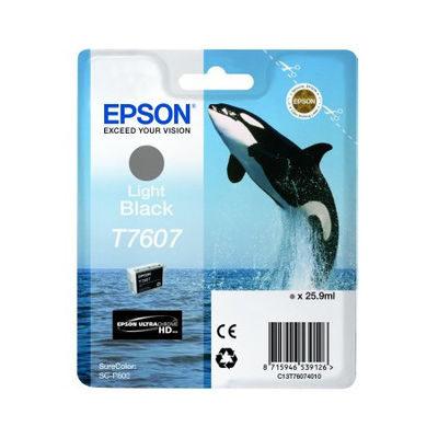 Epson Inktpatroon T7607 - Light Black High Capacity