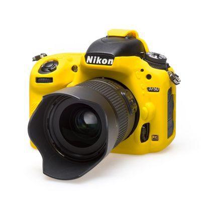 EasyCover Cameracase Nikon D750 Geel