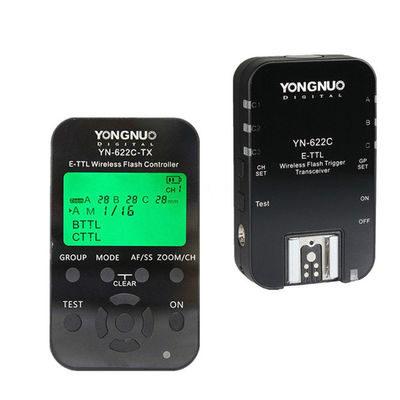 Yongnuo YN622C Kit (Wireless TTL Flash Trigger Set) voor Canon