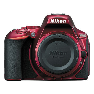 Nikon D5500 DSLR Body Rood